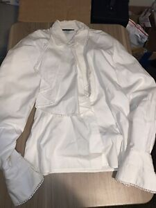 vintage Meryl's Women's Long Sleeve Prince Pirate Shirt Top Size small