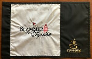 SLAMMER & SQUIRE Golf Flag, World Golf Village, St Augustine FL
