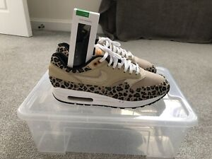 Nike Air Max 1 Desert Ore 'leopard' UK8 W