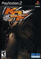 King of Fighters Maximum Impact Collector''s Edition PS2 New Playstation 2