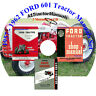 57 58 59 62 FORD TRACTOR MANUALs Owners/Shop/Assembly 601 801 ON CD