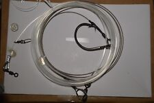 900 lb Steel Cable Shark Surf Rig With 1000 lb Mono Leader