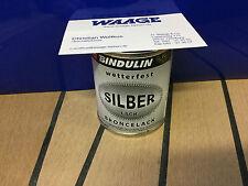 Bindulin Silberlack 125ml für innen außen witterungsbeständig Silberfarbe €9,80