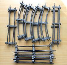 Bing raíles vías pista 0 precisamente arco modelo ferroviario metal vía ferrocarril Alt