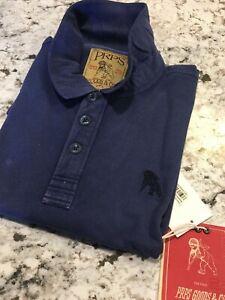 PRPS GOODS & CO. The Blue Jersey Pique  (S) $ 125