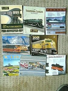 K-Line by Lionel Electric Trains 2008 Volume 1 Catalog - Hiawatha & brochures