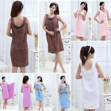 Fast Dry Beach Dress Bathrobes Bath Towels Wearable Towel Robe Body Wrap Towel
