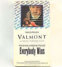 Valmont VHS Movie Promo Screener Copy