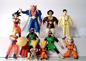 Dragon Ball Z Lot of 10 Action Figures Irwin Bandai Fun 2000's
