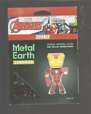 Fascinations Metal Earth Legends Iron Man 3D Laser Cut Model Kit Nip