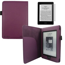 Hülle Tasche für Kindle PaperWhite Cover Case Etui Sleep/WakeUp Funktion in lila