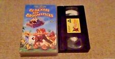 Bedknobs And Broomsticks WALT DISNEY UK PAL VHS VIDEO 1993 Angela Lansbury