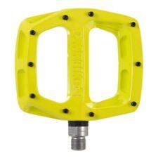DMR V12 Flat wide Mountain MTB bike Flattie Freeride pedals - Lemon Lime