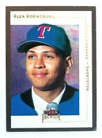 Alex Rodriguez #51 (2001 Fleer Premium) Baseball Card, Texas Rangers