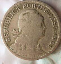 1928 PORTUGAL 50 CENTAVOS - Early Date BARGAIN BIN #172