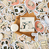 45x Cute Little Raccoons DIY Diary Stickers Paper Labels Gift Packaging Decor  Z
