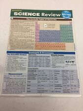 NEW Science Review (Quick Study Academic) by Inc. BarCharts