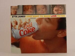 ETTA JAMES I JUST WANT TO MAKE LOVE TO YOU (F65) 3 Track CD Single Picture Sleev
