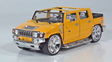 """Humvee Hummer H2 SUV Pickup 5"""" Diecast 1:35 Scale Model Spinners Pull Back & Go"""