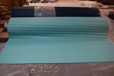 Sea Quest Aqua 1 1/2 inch pleated vinyl marine/automotive grade vinyl #AQ115