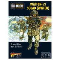 WAFFEN SS SQUAD( WINTER)   BOLT ACTION - WARLORD GAMES WW2