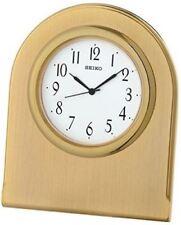 Orologi da tavolo in metallo in oro 12 ore