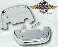 Chrome Rear Footboard covers Harley-Davidson FLH Touring & FL Soft 1987-11 05150