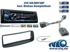 Peugeot 206 Bj. 2002 - 2006 Autoradio Einbauset *Schwarz* inkl. JVC KD-R871BT ..