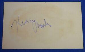 KEN CHARLES signed autograph auto 3x5 Buffalo Braves Atlanta Hawks 1973-77