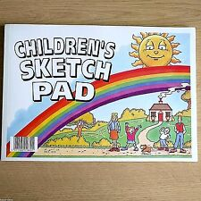 NEW - CHILDRENS A4 SKETCH PAD - Drawing Artist Art Sketching Paper Book