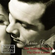 Mario Lanza - Student Prince & the Great Caruso [New CD]