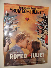 Romeo & Juliet Selections Piano Vocal Chords 1997 soundtrack music book