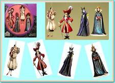 Jim Shore Villains Ornament Disney Traditions Cruella Hook Maleficent Evil Queen