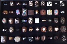 50 PCS Wholesale Jewellery Mixed Natural Handmade Wood Bone Fashion Ring Lot 73