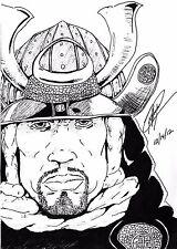 The Legend of Yasuke African Samurai Japan 16th Century 7x5 Inch Print