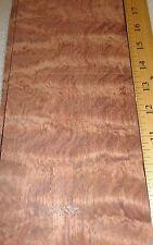 "Waterfall Bubinga wood veneer 4"" x 11"" raw no backing ""AAA"" grade 1/32"" thick"