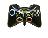 XBOX PLAYSTATION GAME CONTROLLER GAMING BIRTHDAY FOIL HELIUM FORTNITE BALLOON UK