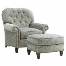 Charmant Lexington Oyster Bay Bayville Fabric Arm Chair With Ottoman