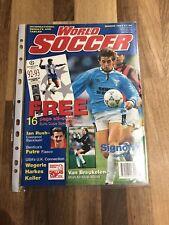 World Soccer Magazine March 1993 Signori Front Cover !