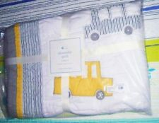 Pottery Barn Kids Quilt NWT 100% Cotton Cars Design