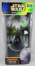 Star Wars The Power of the Force Death Star with Darth Vadar Complete Galaxy