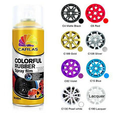 1 x Clear Glossifier Removable Car Rubber Spray Paint Coat Wheel Rim Lacquer
