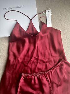 Oliva Von Halle Brand New Silk Camisole Set 1 S Ysl