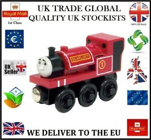 SKARLOEY THOMAS THE TANK ENGINE FRIENDS WOODEN TRAIN MAGNETIC BRIO COMPATIBLE