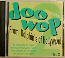 DOO WOP - CD - From Dolphin's Of Hollywood - Vol. 2 -BRAND NEW