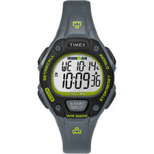 Timex IRONMAN Classic 30 Mid-Size Watch - Grey/Lime/Black