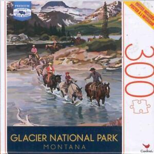 Seps Cardinal Puzzle 300 Pieces Glacier National Park Montana NIB
