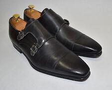 New! Magnanni 'Arturo' Double Monk Strap Cap Toe Shoe Catalux Gray Size 11