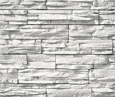 Rivestimento in pietra ricostruita colore bianco meraviglioso effetto naturale