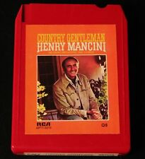 Quad 8 Track-Henry Mancini-Country Gentleman-CLEAN & TESTED!
